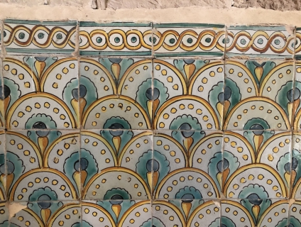 Mosaic d'una estança del monestir