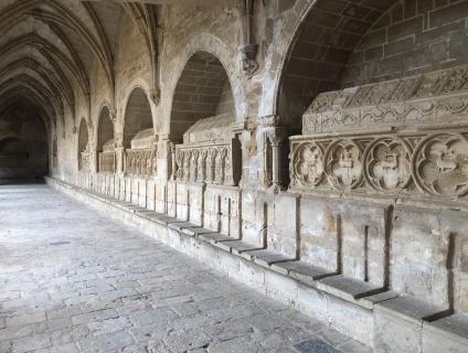 Passadís del claustre del monestir